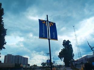 Washington Episcopal School Pole Banners in Bethesda MD