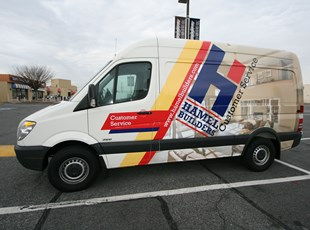 Full Vehicle Graphics for Hammel Builders in Rockville, MD