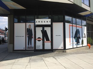Vinyl Window Graphics for Argent in Washington, DC