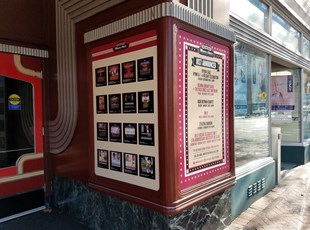 Vinyl graphics for Bethesda Blues and Jazz in Bethesda, MD