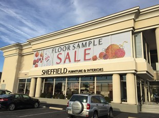 Perforated Vinyl Graphics for Sheffield Furniture in Rockville, MD