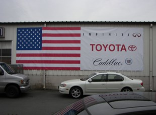 Large Format Banner for Jim Coleman Toyota