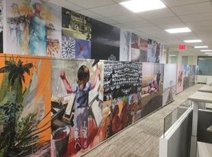 IADB Wall Graphics & Locker Wraps in Washington, DC