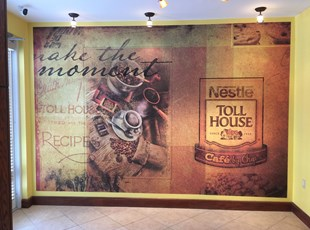 Wall Mural for Nestle Toll House Cafe in Gaithersburg, MD