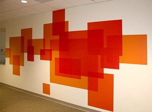 Environmental Wall Graphics Pattern