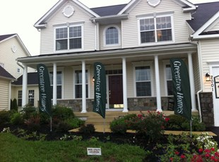 Feather Banners for Greentree Homes