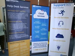 Dataprise Banner Stand