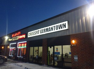 Lightbox Insert for Crossfit in Germantown, MD