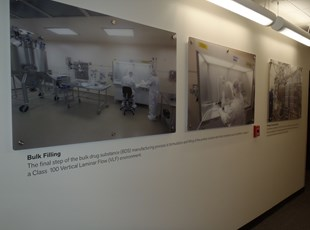 Informative Display Wall for GSK in Gaithersburg, MD