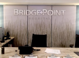 Acrylic panels with Dimensional Lettering for Bridgepoint