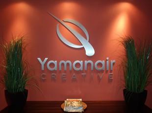 Metal Dimensional Lettering for Yamanair