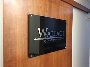 Lobby & Reception Signs | Indoor Dimensional Lettering | Construction