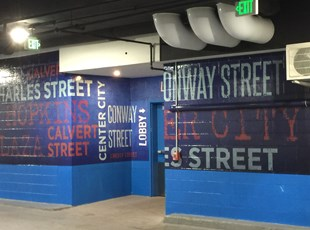 XGD Artwork and Graphical Messaging | Indoor Vinyl Lettering & Graphics | Property Mgmt. | Washington, DC