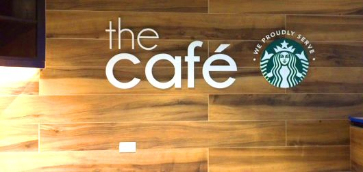 Signs by Tomorrow, Rockville, Starbucks, Wall Graphic, Acrylic, 3D letters, DC, Maryland