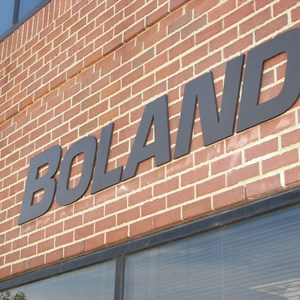 Outdoor Flat Cut Dimensional lettering for Boland