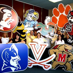 March Madness Mascot Cut Outs