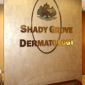 Shady Grove Dermatology dimensional logo