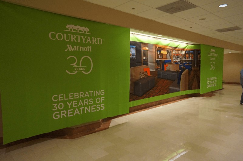 Marriott Courtyard - Then & Now