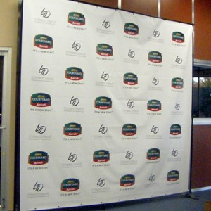 Press Conference Banners & Backgrounds