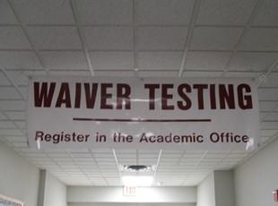 Hallway Banner