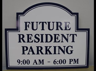 New Community Parking Signs