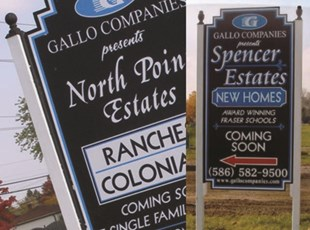 New Development Signage