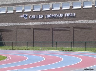 High School Outdoor Dimensional Lettering