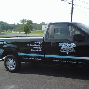 Wilfre Full Color Pickup Lettering