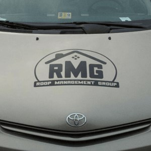 Roop Group Car Lettering