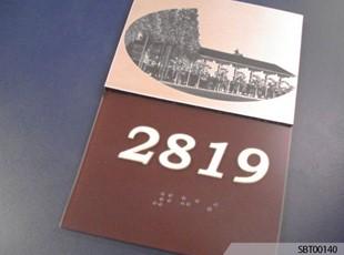 Custom Suite ADA Braille Sign