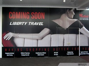 Retail Liberty Travel Wall Wrap