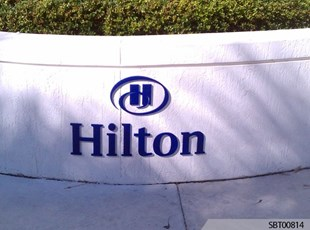 Hilton Outdoor Dimensional Lettering