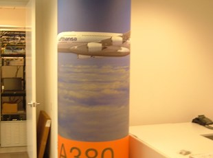 Wall Graphics - Wrapped Pillar