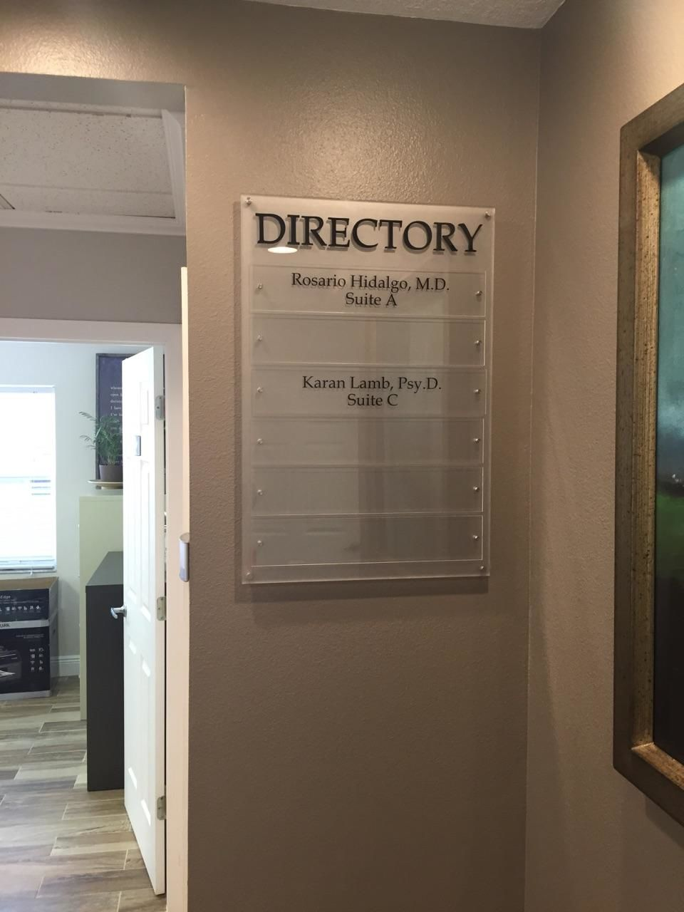 Custom Indoor Directory Signs Signs By Tomorrow Of South Tampa Directory Signage Systems