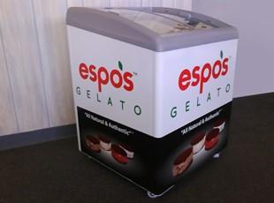 Espo's Gelato Freezer Wrap