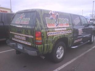 Big Frog Vehicle Wrap