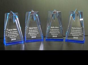 Acrylic Star Tower Award