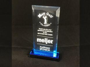 Beveled Impress Acylic Award