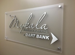 Mykala Mortgage GemLeaf Acyrlic w/ Standoffs