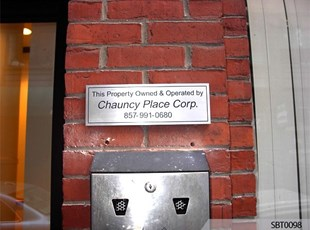Exterior Engraved Sign