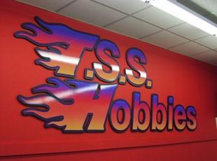 TSS Hobbies PVC Dimensional Letters
