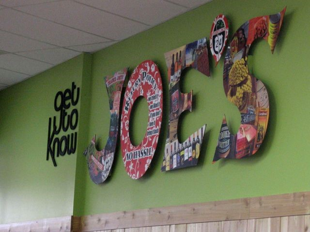 Trader Joes PVC Dimensional Letters