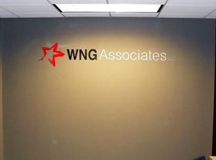 WNG Associates Dimensional Interior Letters