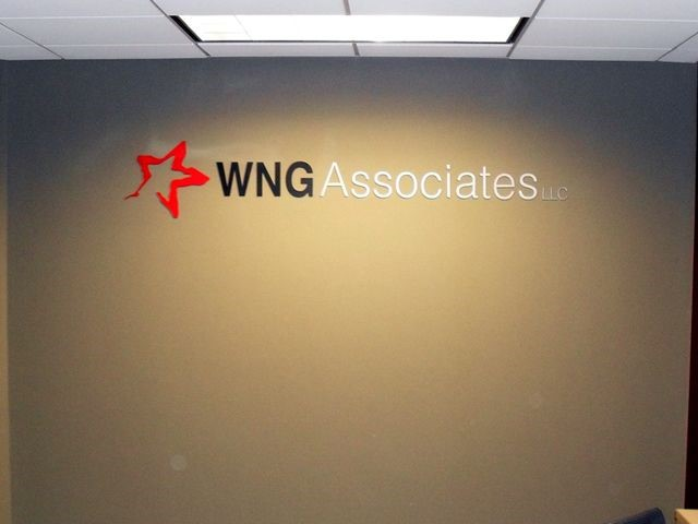 WNG Associates Dimensional Interior Letters