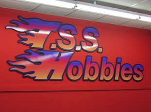 Routed PVC with Vinyl Graphics