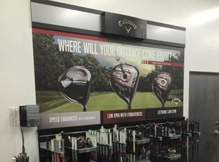 Callaway Photo Tex Wall Graphic
