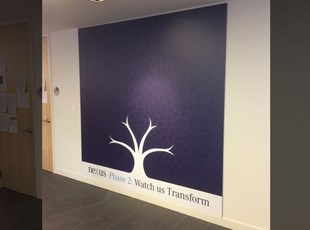 Mercedes PVC Wall Display