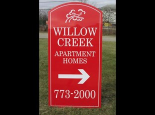 Community directional sign