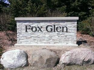 Fox Glenn Exterior Aluminum Letters