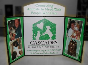 Cascades Humane Society ShowStyle Trifold